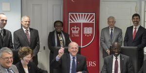 Rutgers Uni partners with Botswana