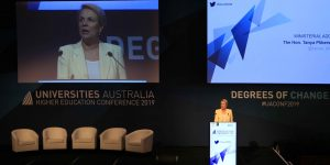 Australian political parties outline intled policies at UA Conference