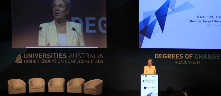 Shadow education and training minister Tanya Plibersek pledged a revitalised international education strategy. Photo: The PIE