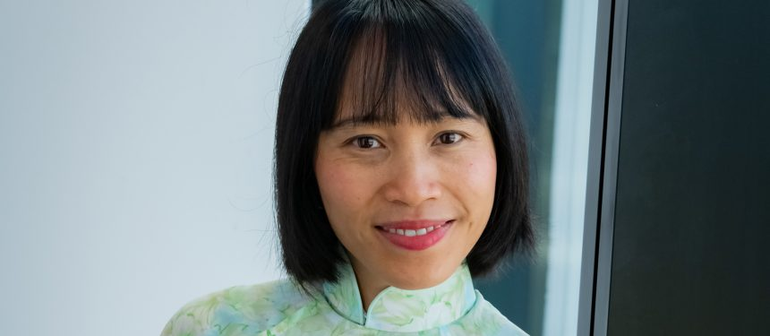 Tran has become a well known figure in international education research circles. Photo: Simon Fox