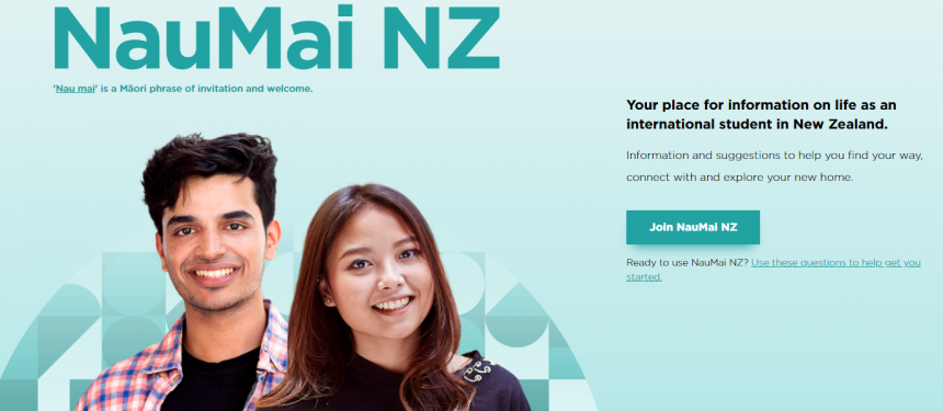 NauMai NZ provides international students with government information to support their studies. Photo: ENZ