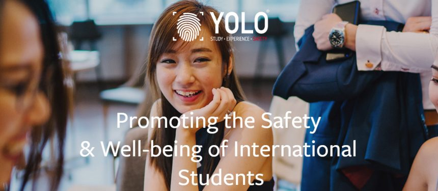 Chin said there was a link between international students feeling safe and high academic performance. Photo: YOLO