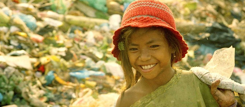 Ron started life as a rubbish picked to support her family. Photo: Cambodian Children's Fund