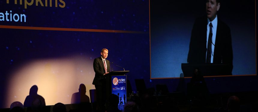 Education minister Hipkins said collaboration would drive growth in New Zealand. Photo: The PIE