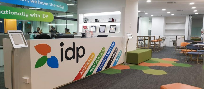 IDP launched its new SE Asia headquarters in Singapore. Photo: IDP