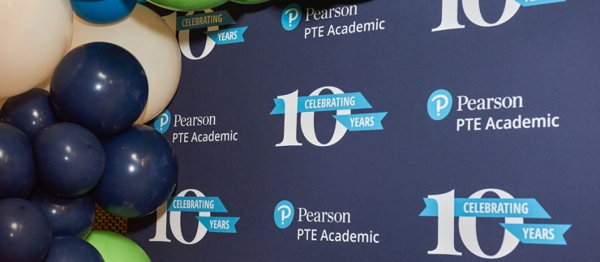 PTE Academic has celebrated 10 years of operations. Photo: Pearson