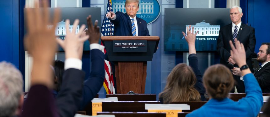 Trump looks to temporary immigration suspension to halt spread of Covid-19