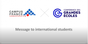 """Campus France tells international students, """"We need you"""""""
