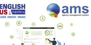 EnglishUSA partners with AMS platform