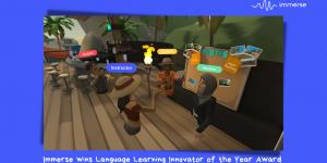 Immerse wins Breakthrough Award for edtech