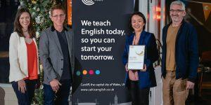 Celtic English Academy wins Employer Award